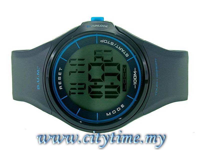BUM Men Digital Touch Screen Rubber Sport Watch BUBM00405 8d9e81d707