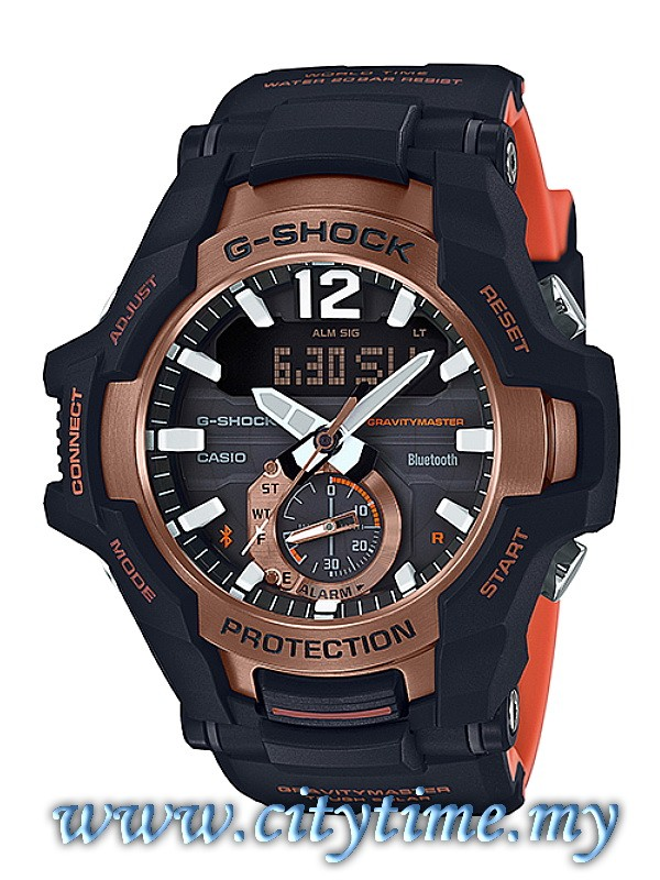 ... Swiss Army Jam Tangan Couple Stainless Steel SA 2589 . Source ·. Source · Casio G-Shock GRAVITYMASTER Bluetooth Tough Solar Aviation Watch GR-B100-1A4DR