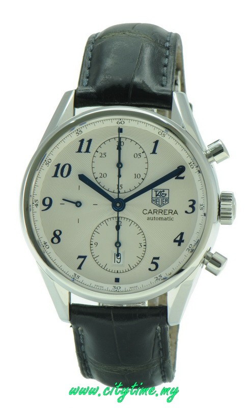 Used TAG Heuer Men's CAV2111 Carrera Automatic Chronograph Watch