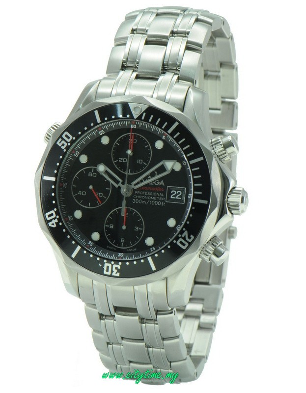 Used OMEGA Seamaster Professional Chronograph Automatic Watch 2133.0424.0010